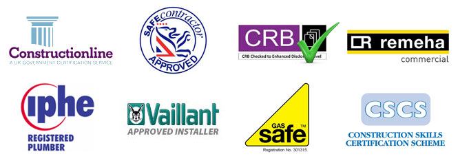 gas safe, constructionline, vaillant, crb, safe contractor, cscs, iphe, remeha